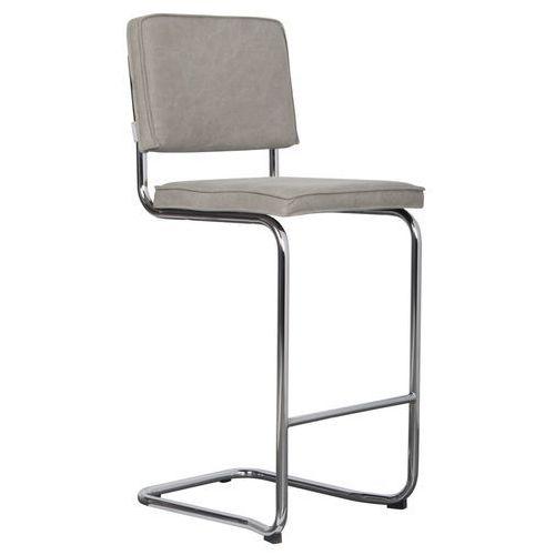 Zuiver stołek barowy ridge kink vintage zużyty zielony 1500029
