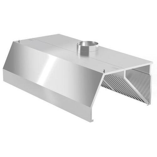 Polgast Okap przyścienny trapezowy 1000x700x450 (h)