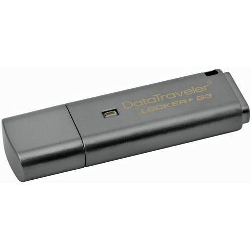Kingston Pendrive datdatatraveler locker+ g3 64gb usb 3.0 (0740617218602)