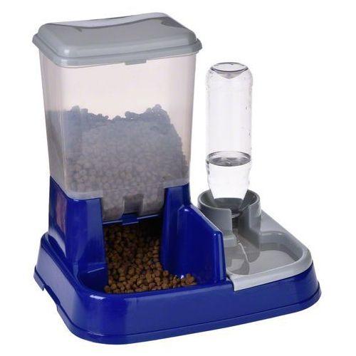 Zooplus exclusive Automat do wody i karmy 2 in 1 -dł. x szer. wys.: 37 x 32 x 36 cm| -5% rabat dla nowych klientów| darmowa dostawa od 99 zł + promocje od zooplus! (4054651646601)