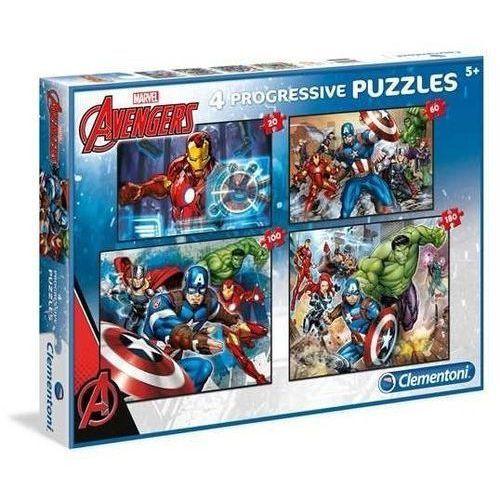 20+60+100+180 elementów Linia Specjalna Avengers