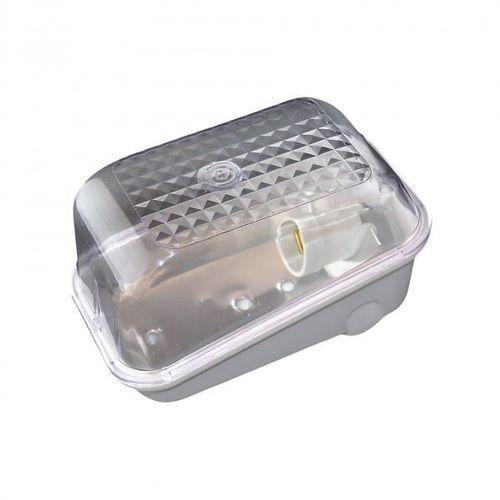 Oprawa oświetleniowa KARIF szara, E27, poliwęglan, przeźroczysty ORNO z kategorii Pozostałe