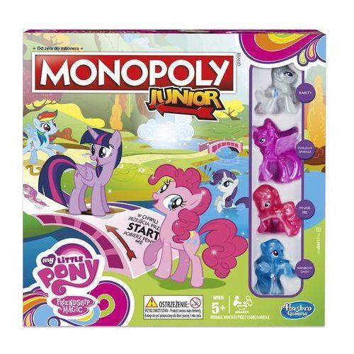 Hasbro Gra monopoly junior my little pony