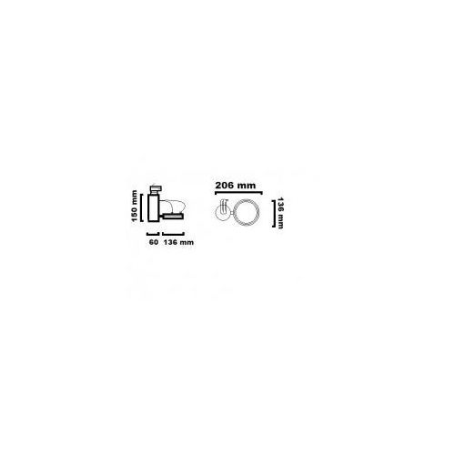 OPTIQUE A L11 SP3 NW TRIAC 17.5111.D67. OPRAWA DO SZYNOPRZEWODU LED 3000K CHORS, 271 / 17.5111.D67.