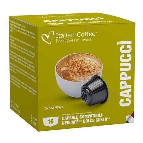 Capucci italian coffee kapsułki do dolce gusto – 16 kapsułek marki Nespresso kapsułki