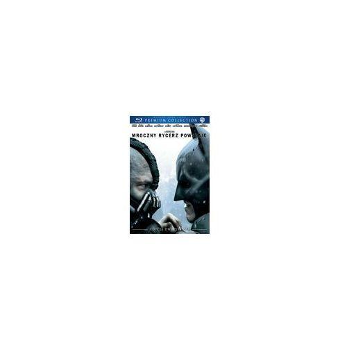 Mroczny rycerz powstaje [2blu-ray] premium collection - darmowa dostawa kiosk ruchu marki Christopher nolan