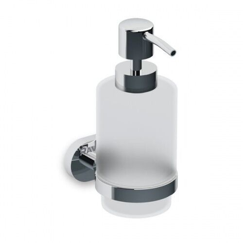 RAVAK Chrome Dozownik na mydło w płynie CR 231.00, kolor CHROM+MATOWE SZKŁO X07P223, X07P223