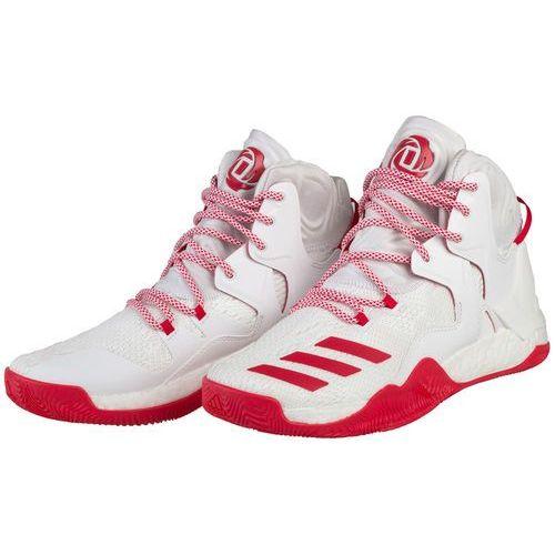 Adidas performance d rose 7 obuwie do koszykówki white/ray red