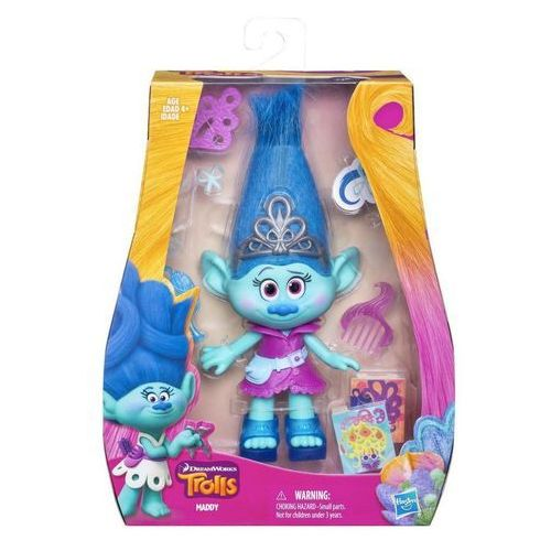 Hasbro Trolls lalka podstawowa, maddy