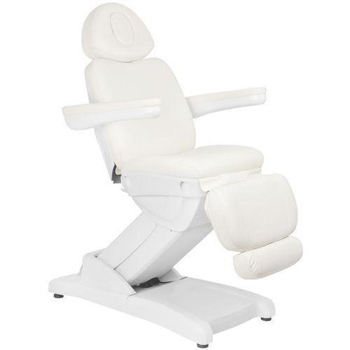 Activ Fotel kosmetyczny elektr. azzurro 871 4 siln. biały