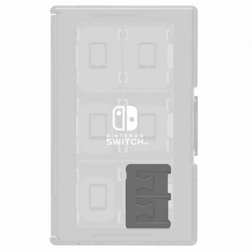 game card case 24 for nintendo switch (clear) marki Hori