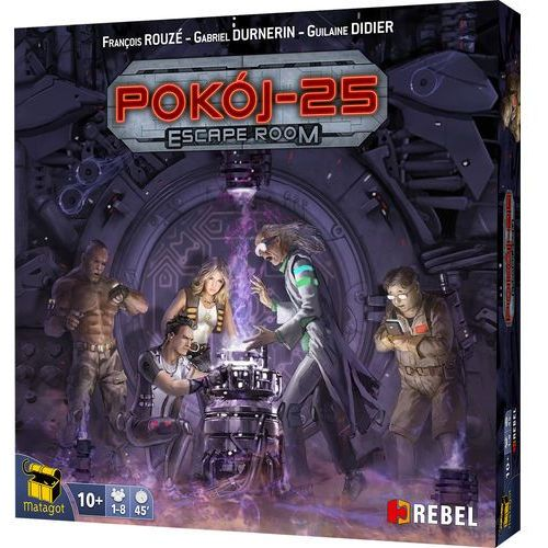 Pokój 25: escape room marki Rebel