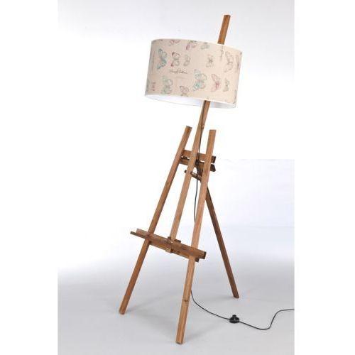 Namat Lampa stojąca sztaluga dark wood nr 2471