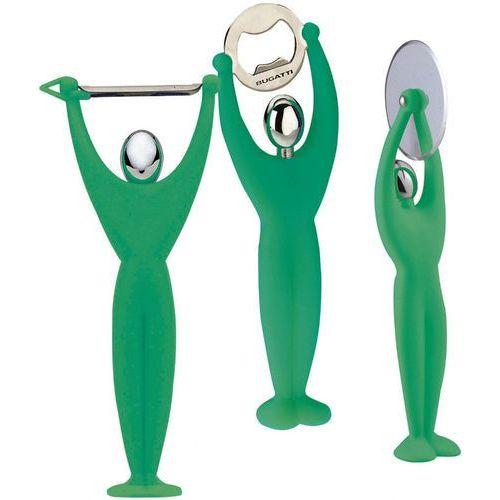 - gym zestaw 3 przyborów - zielony - zielony marki Casa bugatti
