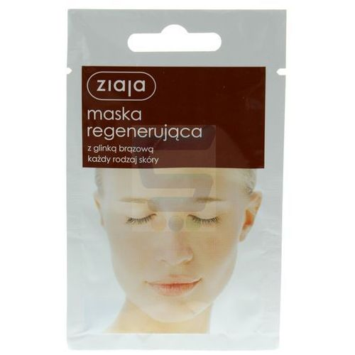 maseczka do twarzy regenerująca 7 ml marki Ziaja