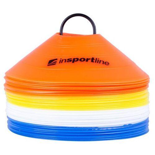 Zestaw plastikowe pachołki treningowe 40 sztuk marki Insportline
