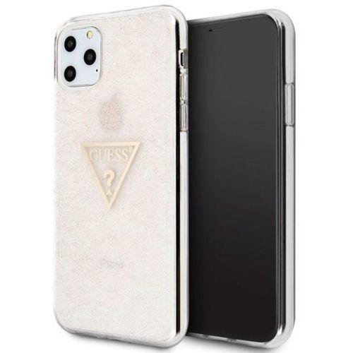Guess 4g peony solid glitter etui do iphone xs / x różowe (3700740470893)