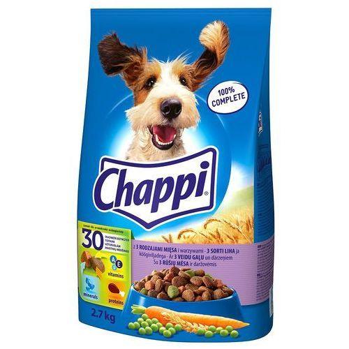 CHAPPI 9kg Trzy rodzaje mięsa Karma dla psów dorosłych, 12712 (4842904)