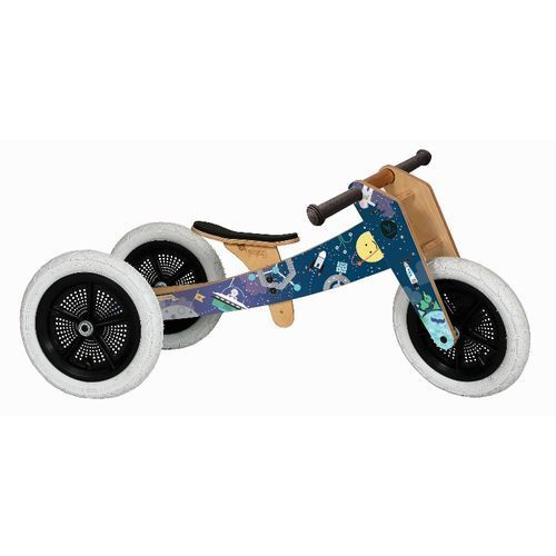 Wishbone Bike - Rowerek biegowy, Space (9421904279186)