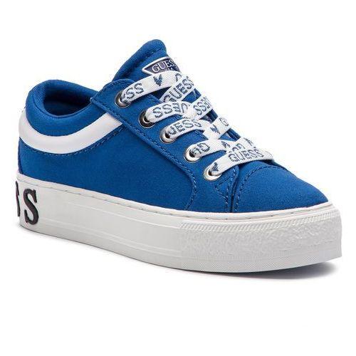 Tenisówki GUESS - FL5LY4 FAB12 BLUE, kolor niebieski