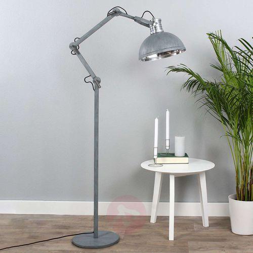 Steinhauer brooklyn lampa stojąca siwy, 1-punktowy - nowoczesny - obszar wewnętrzny - brooklyn - czas dostawy: od 6-10 dni roboczych marki Steinhauer bv