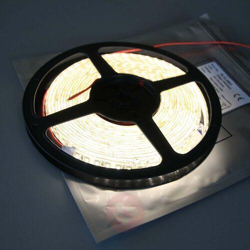 Taśma LED Mono 600 IP53 65 W ciepła biel 3 200 K, kolor biały