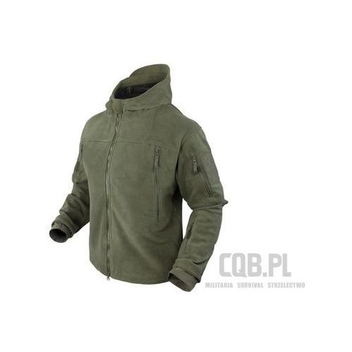 Condor Kurtka  sierra hooded fleece jacket olive drab 605-001