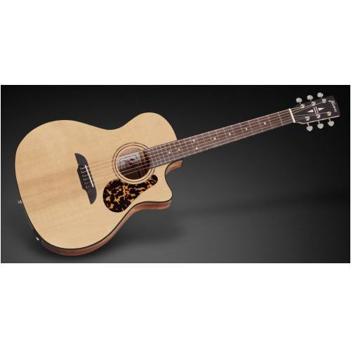 Framus FG 14 SV - Vintage Transparent Satin Natural Tinted + EQ gitara elektroakustyczna