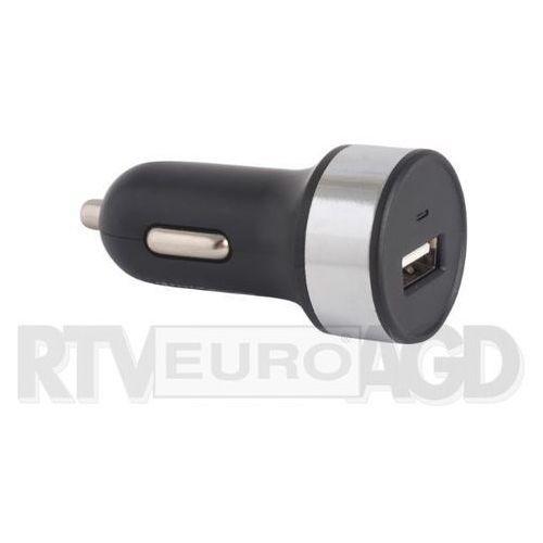 Ładowarka FOREVER Ładowarka samochodowa 1A USB czarna kabel microUSB