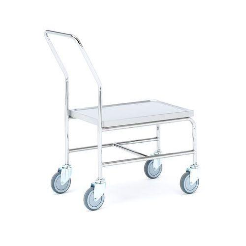 Aj produkty Wózek ze stali nierdzewnej, 150 kg, 820x440x950 mm