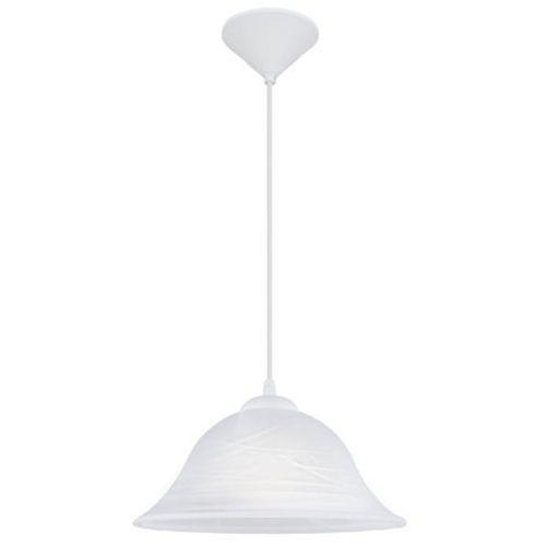 Lampa wisząca alessandra mała klosz biały, 3362 marki Eglo
