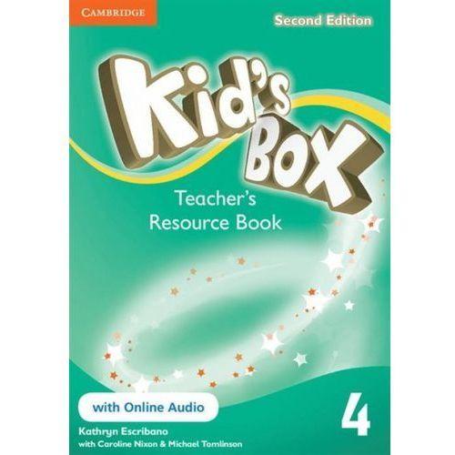 Kid's Box 4 Teacher's Resource Book with online audio, oprawa miękka