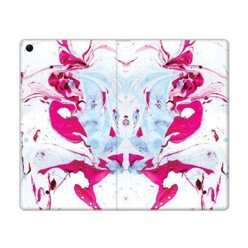Flex Book Fantastic - Lenovo Tab 3 7.0 (A7-30) - etui na tablet Flex Book Fantastic - różowy marmur, kolor różowy