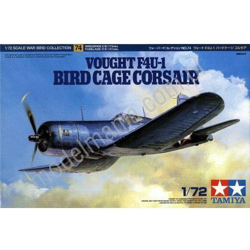 Amerykański myśliwiec pokładowy Vought F4U-1 Corsair Bird Cage Tamiya 60774 (4950344607747)