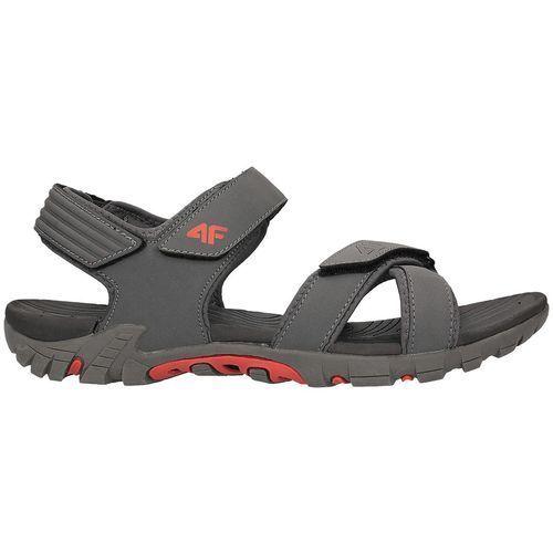 4f Męskie sandały h4l18 sam002 szary 40