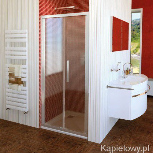 LUCIS LINE drzwi prysznicowe składane do wnęki 90x200cm DL2815
