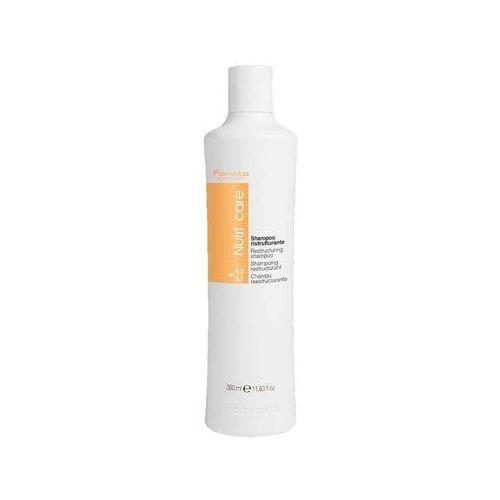 Fanola Nutri Care Restructuring | Nawilżający szampon do włosów suchych i łamliwych 350ml