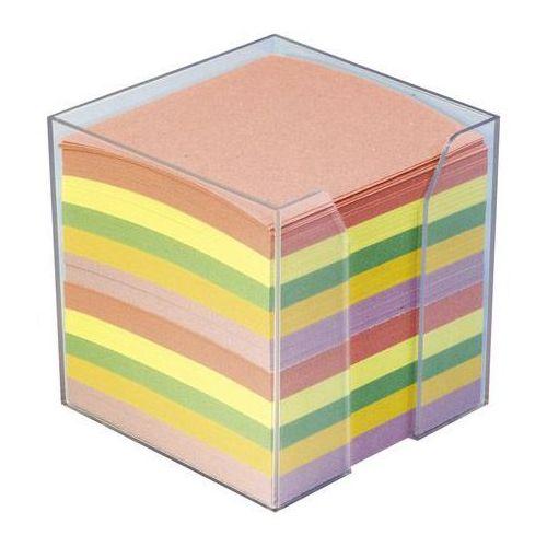 Kostka papierowa nieklejona pojemnik 8x8/800k. mix marki Idest