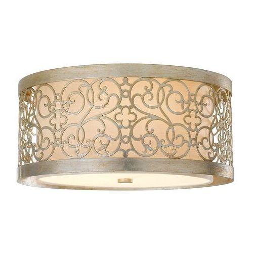Lampa sufitowa arabesque z podwójnym kloszem marki Elstead