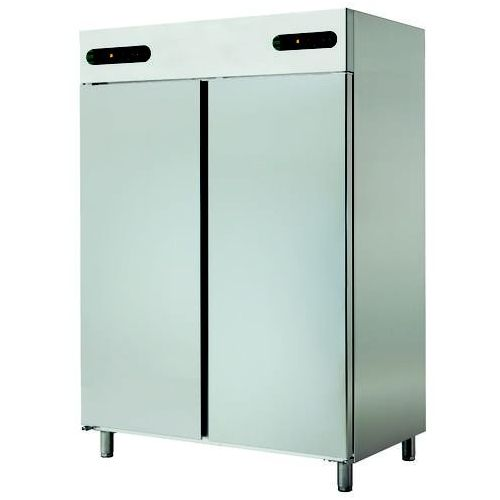 Szafa chłodniczo-mroźnicza 2-drzwiowa, 1400 l, 1388x826x2008 mm | ASBER, ECPN-1402/2