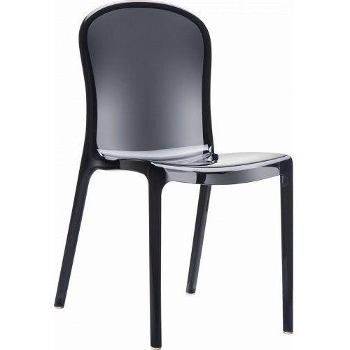 Krzesło Uma Black transparent, 3254 (4485510)