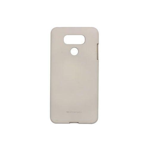 Lg g6 - etui na telefon soft feeling - beżowy marki Mercury goospery