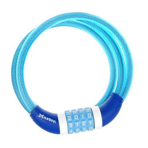 Masterlock 8231 Zapięcie kablowe 10 mm x 1.200 mm niebieski Linki rowerowe