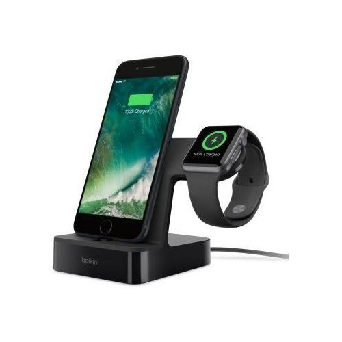 Belkin valet charge dock for iphone&watch black