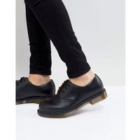 Dr martens 1461 pw 3-eye shoes in black - black