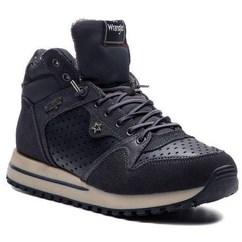 Sneakersy - beyond star mid wl182642 anthracite 96 marki Wrangler