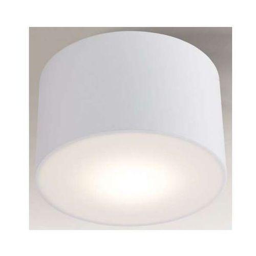 Plafon lampa sufitowa zama 1128/led/bi  natynkowa oprawa led 15w okrągła biała marki Shilo