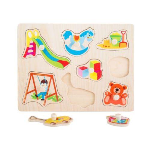 small foot® Drewniane puzzle Zabawki, 8 części (4020972104472)