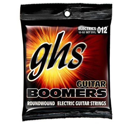 dynamite guitar boomers struny do gitary elektrycznej, light,.012-.052 marki Ghs