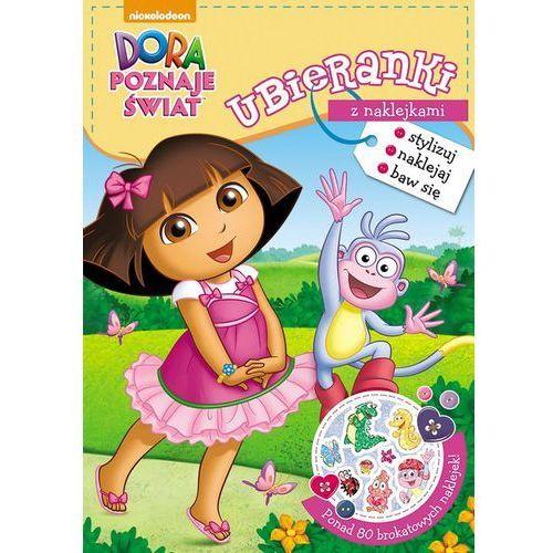 Dora poznaje świat Ubieranki z naklejkami - Jeśli zamówisz do 14:00, wyślemy tego samego dnia. Darmowa dostawa, już od 300 zł.